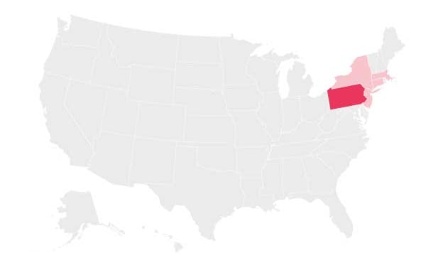 USA-map_Pensilvania